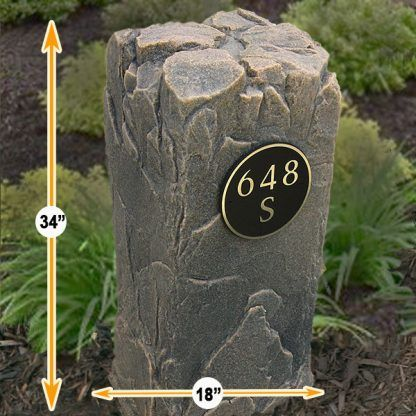 personalized house numbers boulder
