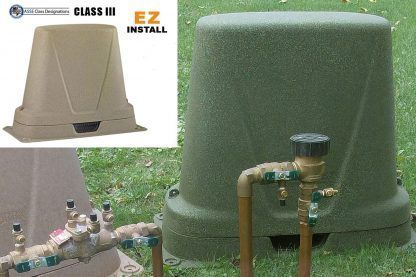 backflow freeze protection cover