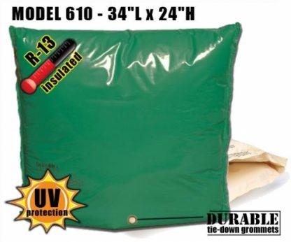 """Backflow Insulation Bag Blanket 34""""L x 24""""H DekoRRa 610 Backflow Pouch"""