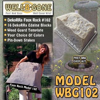 Well-B'-Gone Well Pump Cover Kit WBG102