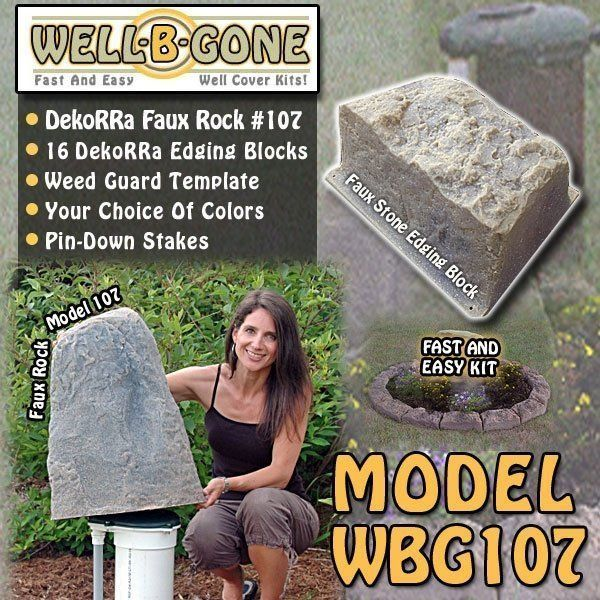 Well-B'-Gone Well Pump Cover Kit WBG109