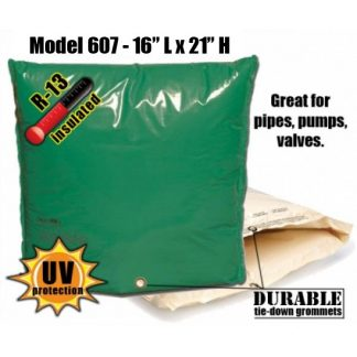 "Backflow Insulation Bag Blanket 16""L x 21""H DekoRRa 607 Backflow Pouch"