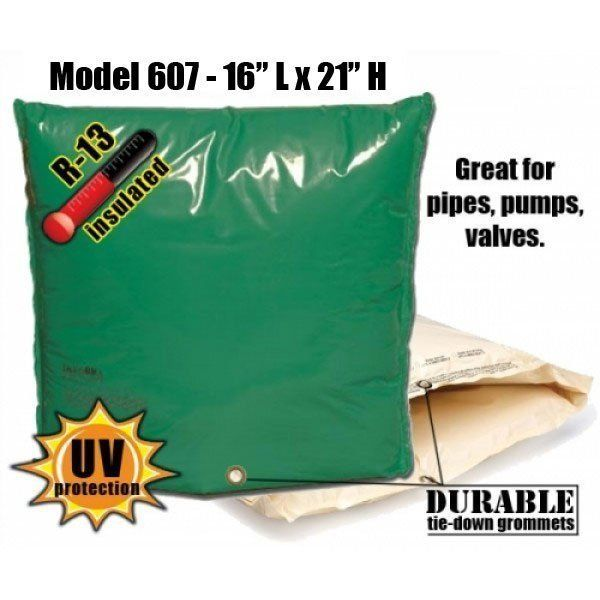 Backflow Insulation Bag Blanket 16″L x 21″H DekoRRa 607 Backflow Pouch
