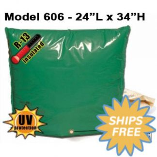 "Backflow Insulation Bag Blanket 24""L x 34""H DekoRRa 606 Backflow Pouch"