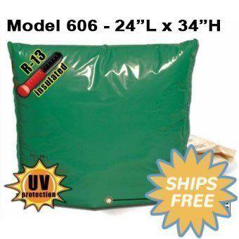"""Backflow Insulation Bag Blanket 24""""L x 34""""H DekoRRa 606 Backflow Pouch"""